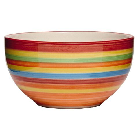 Living & Co Hand Painted Bowl Rainbow 5.5 inch