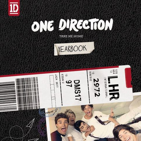 Take Me Home (Deluxe) CD by One Direction 1Disc