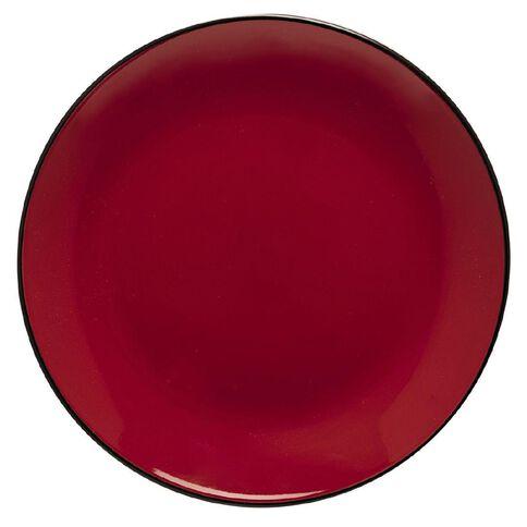 Harrison & Lane Tokyo Dinner Plate Red