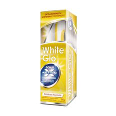 White Glo Toothpaste & Toothbrush Smokers Kit