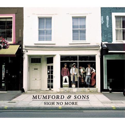 Sigh No More CD by Mumford & Sons 1Disc