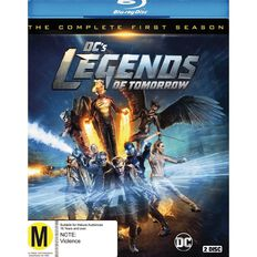 DCS Legends of Tomorrow Season 1 Blu-ray 2Disc