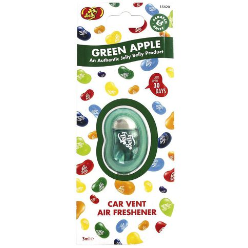 Jelly Belly Air Freshener Vent Green Apple