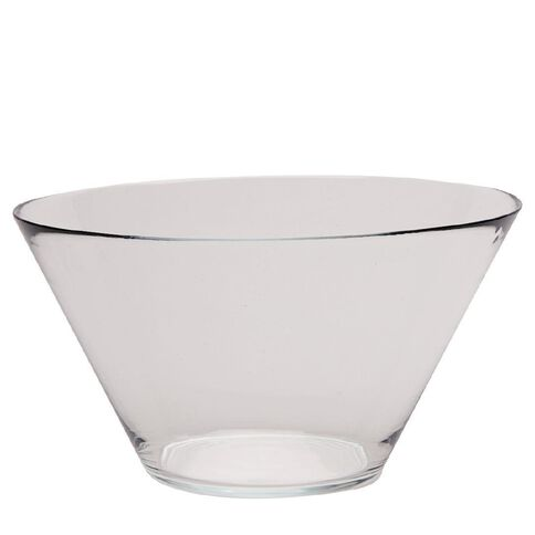 Living & Co Glass Salad Bowl 27cm