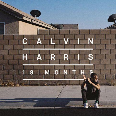 18 Months by Calvin Harris CD