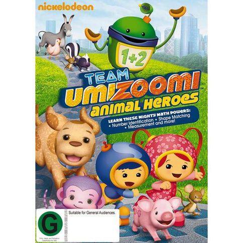 Team Umizoomi Animal Heroes DVD 1Disc