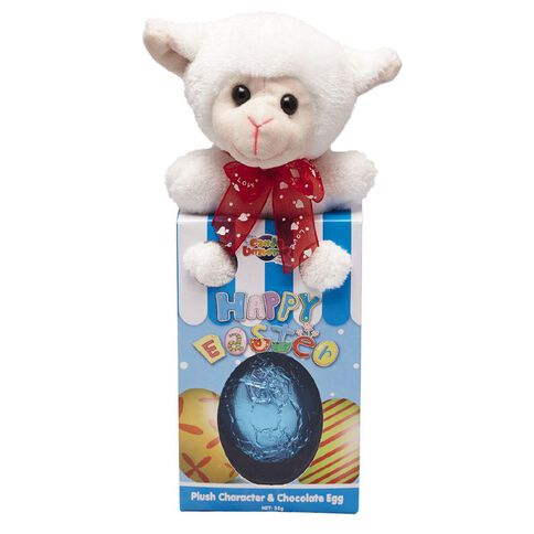 Plush Bunny and Friends with Egg 35g Assorted