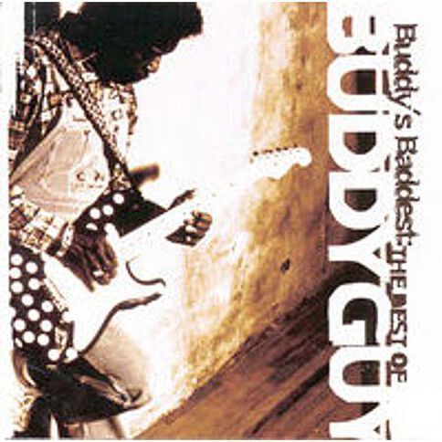 Buddys Baddest Best of CD by Buddy Guy 1Disc
