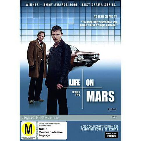 Life on Mars Complete Season 2 DVD 4Disc