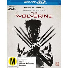 The Wolverine Blu-ray + 3D Blu-ray 2Disc