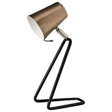 Living & Co Zed Table Lamp Brass and Black