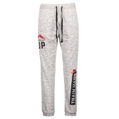 Active Intent Men's Athletic 2 Pocket Print Trackpants