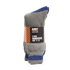 Rivet Men's Work Socks 5 Pack