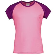 Basics Brand Girls' Contrast Rash Vest