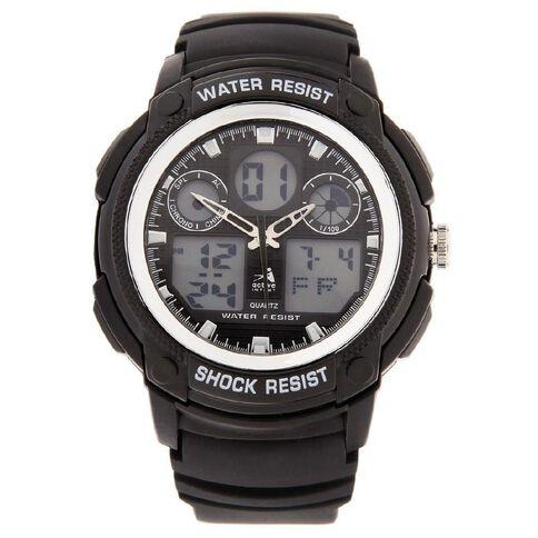 Active Intent Men's Digital Watch Black