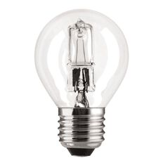General Electric Halogen Lustre Bulb 30W E27 Clear