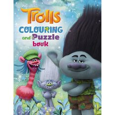 Trolls Colouring & Puzzle Book