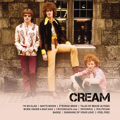 Icon CD by Cream 1Disc