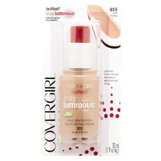 Covergirl Outlast Stay Luminous Natural Glow Foundation Soft Honey