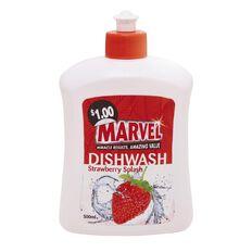 Marvel Dishwash Liquid Strawberry 500ml