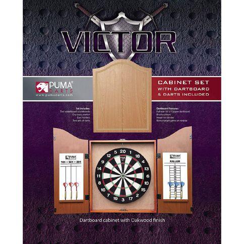 Puma Darts Dartboard Cabinet & Darts Set