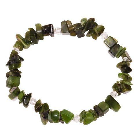 Jade Power Chip Bracelet