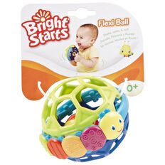 Bright Starts Flexi Ball with Rolling Rattle Ball Inside