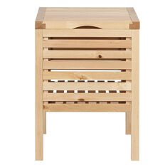 Ikea Molger Storage Stool Birch