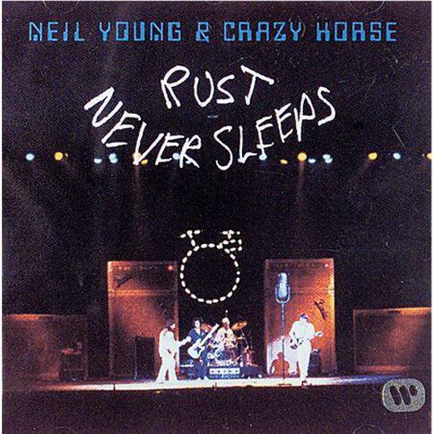 Young Neil Rust Never Sleeps. CD