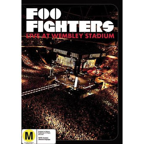 Foo Fighters Live at Wembley Stadium DVD 1Disc