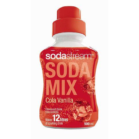 Sodastream Syrup Cola Vanilla 500ml*