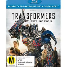 Transformers 4 Age of Extinction Blu-ray 2Disc