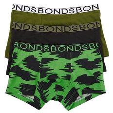 Bonds Boys' Trunks 3 Pack