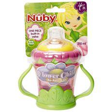 Nuby Flower Twin Handle Cup 210ml 4m+