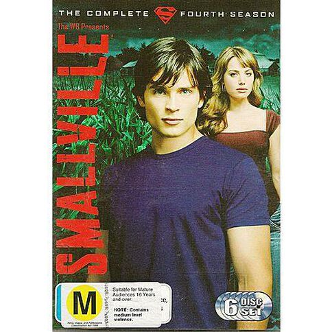 Smallville Season 4 DVD 6Disc