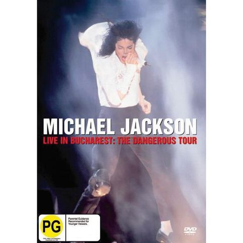 Michael Jackson Live in Bucharest DVD 1Disc