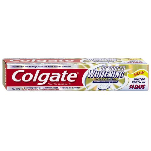 Colgate Whitening and Tartar 120g