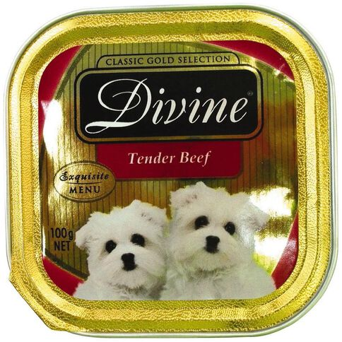 Divine Dog Tender Beef 100g