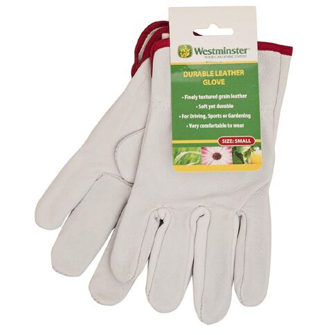Westminster Pig Grain Leather Gloves Small Green
