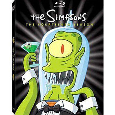 Simpsons: Season 14 4 Blu-ray Discs