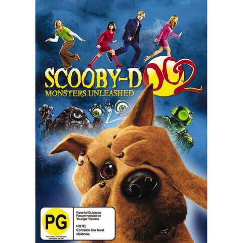 Scooby Doo Monsters Unleashed DVD 1Disc