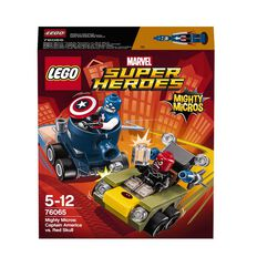 Marvel LEGO Super Heroes Mighty Micros: Captain America vs Red S 76065