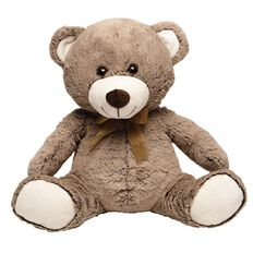 Sitting Bear Plush 35cm Assorted