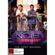 NCIS New Orleans Season 1 DVD 6Disc