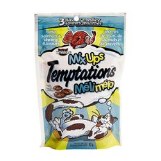 Whiskas Temptations Mixups Tuna Salmon & Shrimp Flavours 85g