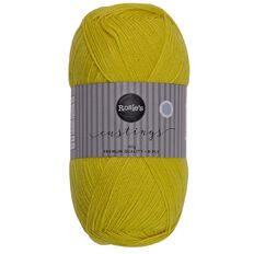 Rosie's Studio Castings Yarn Acrylic Dark Yellow 400g