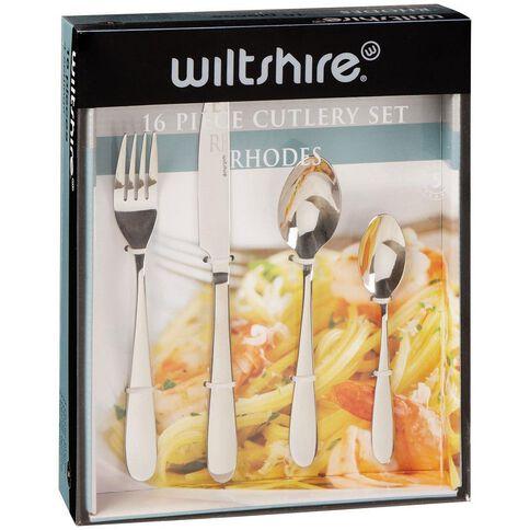 Wiltshire Rhodes Cutlery Set 16 Piece