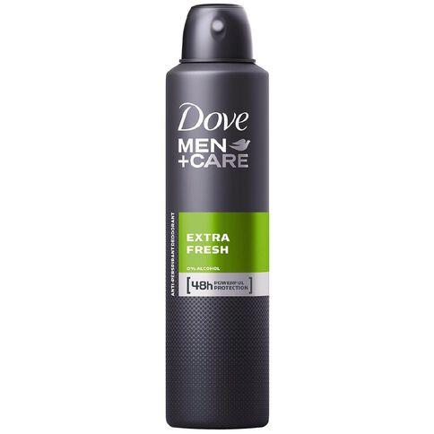Dove Men's Antiperspirant Extra Fresh 250ml