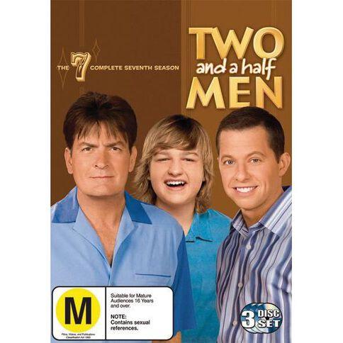 Two and a Half Men Season 7 DVD 3Disc