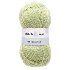 Stitch and Sew Yarn 4-Ply Baby Apple 50g